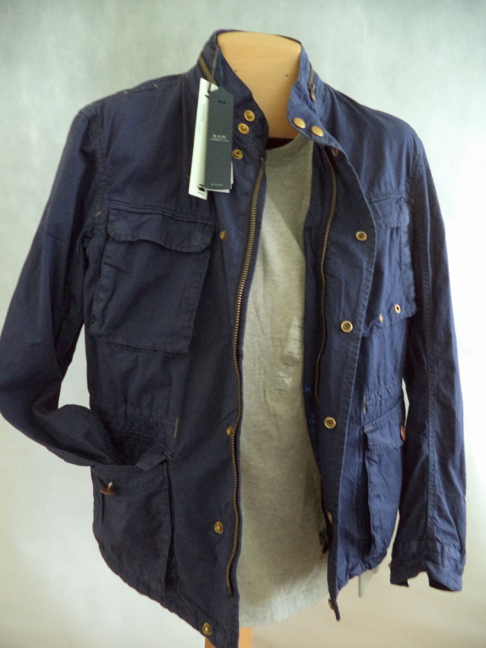 star raw overshirt jacke battle twill od blau gr l h ftlang. Black Bedroom Furniture Sets. Home Design Ideas
